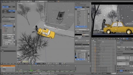 Blender Animation Courses in South Wales | Bridgend | South